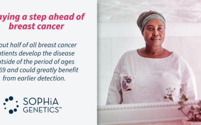 Staying a step ahead of breast cancer with data-driven medicine